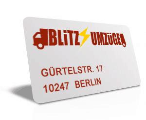 blitz adresscard